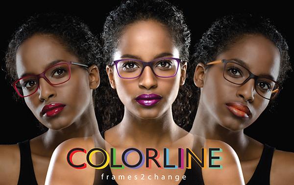Colorline frames2chance Werbeplakat