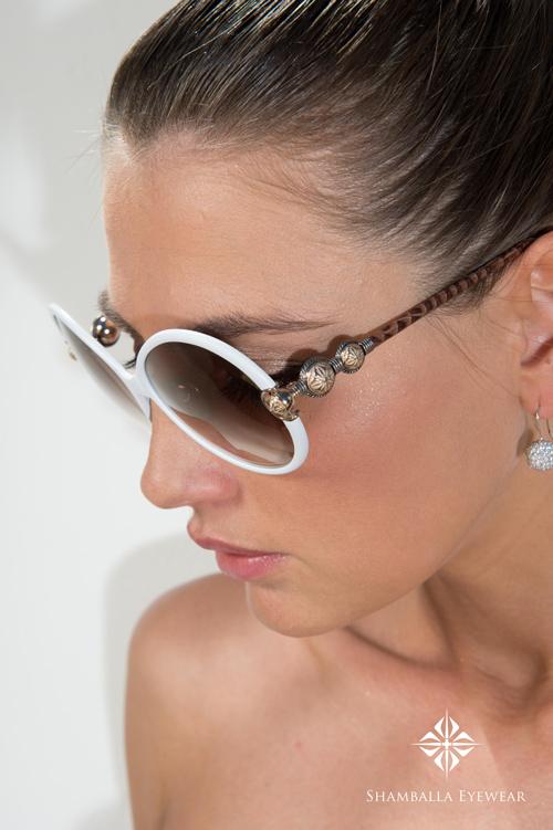 Shamballa Eyewear - Brille Divinity (in Weiß)