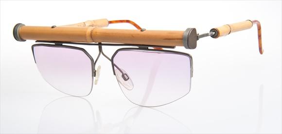 Gabrich Handarbeitsbrille -Studie mit Bambus-Rahmen & Bügel