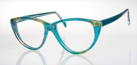 Nach einer Brillenstudie in den 80er Jahren - Design mit Dekorstoff