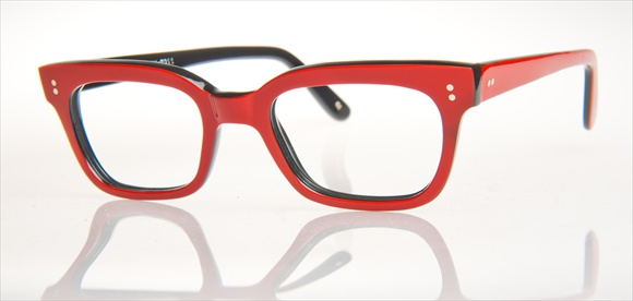 Gabrich Handarbeitsbrille in Ferrari-Rot