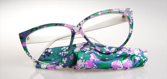 Gabrich Handarbeitsbrille - Design mit Dekorstoff
