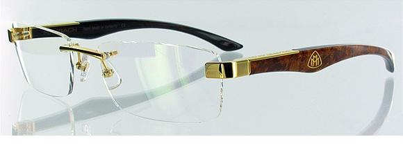 THE ARTIST III G WA-Z25 - die Holz-Büffelhorn-Brille von Maybach