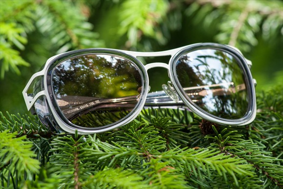 Moncler Lunettes Modell #4 (Weiss)