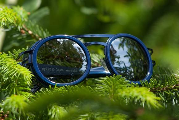 Moncler Lunettes | Modell #6 (Blau)