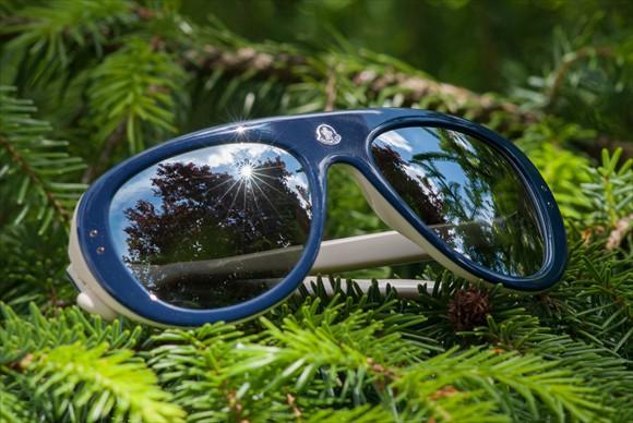 Moncler Lunettes | Modell #3 (Blau)