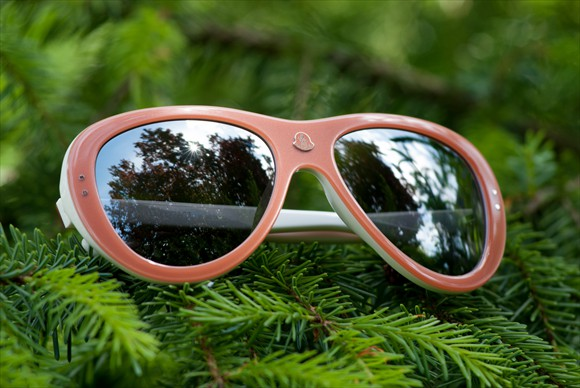 Moncler Lunettes | Modell #3 (Lachsrot)
