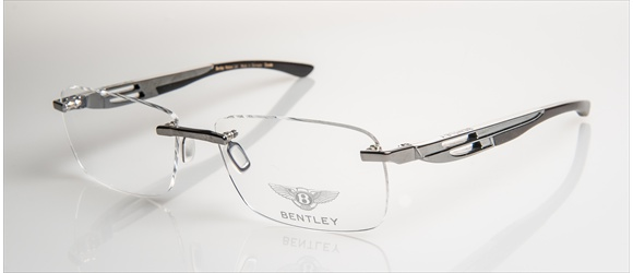 Bentley Eyewear | Modell 10 - dark gun with bubinga black