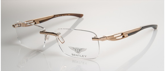Bentley Eyewear | Modell 11 - light gold with dark brown horn