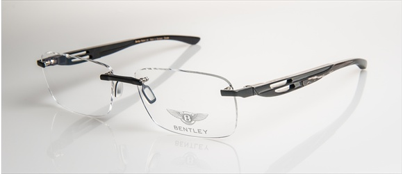Bentley Eyewear | Modell 13 - black mat with grey mal. horn
