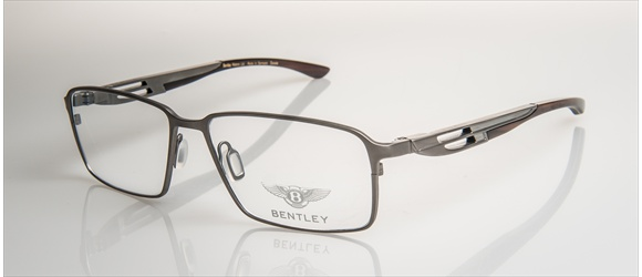 Bentley Eyewear | Modell 5 - silver mat with midbrown horn