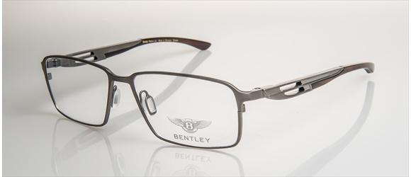 Bentley Eyewear | Modell 5 - silver mat with midbrown horn