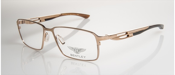 Bentley Eyewear | Modell 3 - gold with dark brown horn