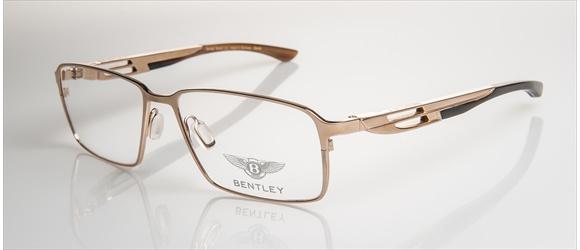 Bentley Eyewear | Modell 3 - gold with dark brown horn