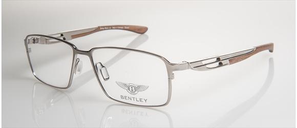 Bentley Eyewear | Modell 4 - silver with amer. walnut