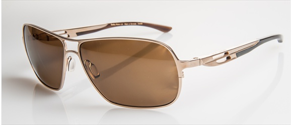 Bentley sunglass | Modell 19 - gold with dark brown horn