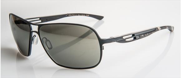 Bentley sunglass | Modell 20 - black mat with grey mel. horn
