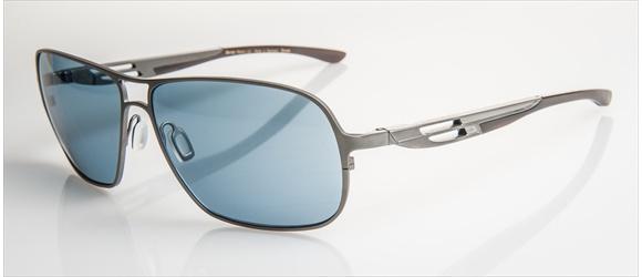 Bentley sunglass | Modell 18 - silver mat with midbrown horn