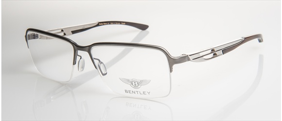 Bentley Eyewear | Modell 9 - light gun mat with midbrown horn