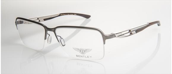 Bentley Eyewear | Modell 9 - light gun mat with midbrown horn