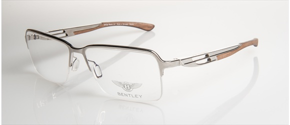 Bentley Eyewear | Modell 6 - silver with amer. walnut
