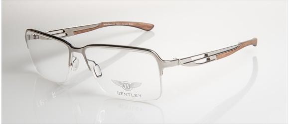 Bentley Eyewear | Modell 6 - silver with amer. walnut