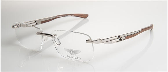 Bentley Eyewear | Modell 12 - gold with amer. walnut