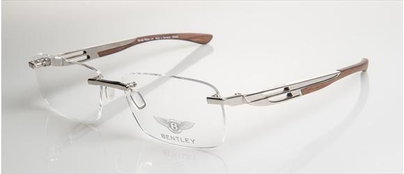 Bentley Eyewear | Modell 12 - gold with amer. walnut