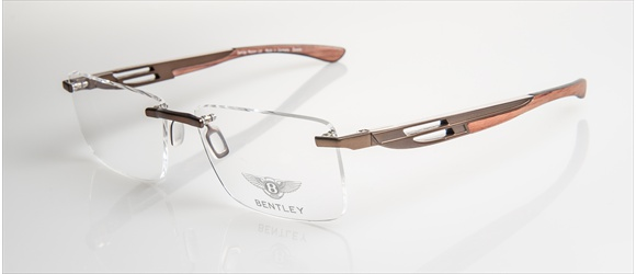 Bentley Eyewear | Modell 13 - bronze mat with bubinga/walnut
