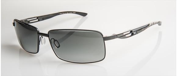 Bentley sunglass | Modell 14 - black mat with grey mel. & black horn