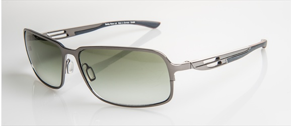 Bentley sunglass | Modell 16 - silver mat with bubinga/walnut
