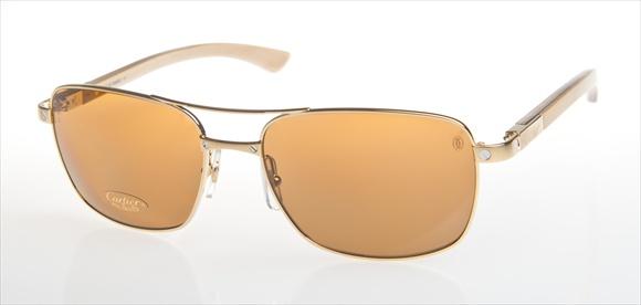 Cartier Sonnenbrille - mit Holzbügel