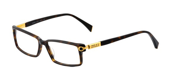Z20005 L01 Gold model - Frame in cellulose acetate and titanium