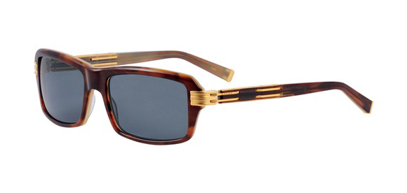 Eugène Tortoiseshell model - Frame in cellulose acetate and titanium